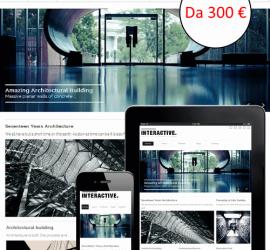 I nostri siti web sono responsive: si adattano cioè alla visualizzazione su qualsiasi dispositivo