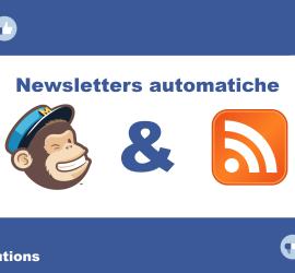 newsletter automatiche rss mailchimp