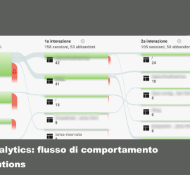 flusso di comportamento google analytics