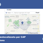 Pubblicità di negozi su Facebook