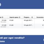 Pubblicità su Facebook: come sapere quanto si spende per una vendita