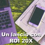 Come vendere un infoprodotto da 1000 euro con un ROI 20X